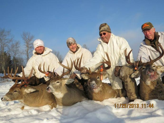 Saskatchewan Whitetail Deer Hunting Guide Outfitter